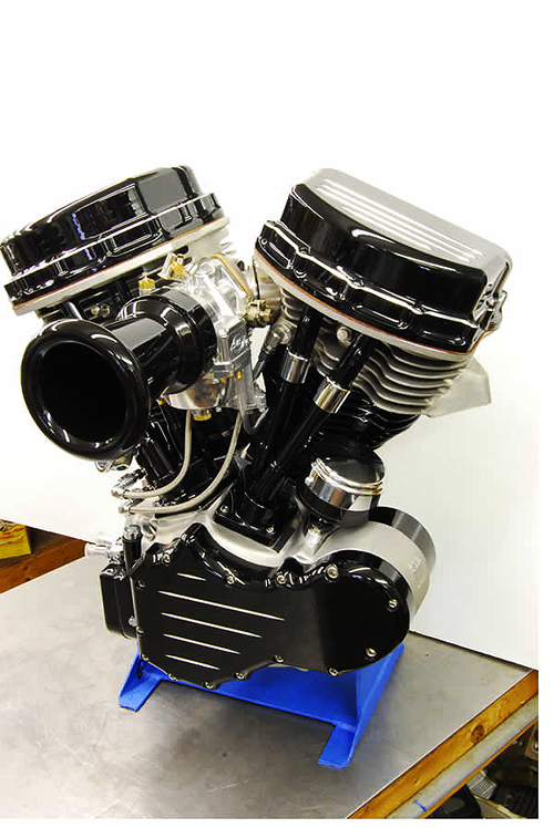 PANHEAD ENGINE BLACK 93CI
