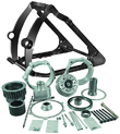 Wide Fat Tire Harley Conversion Kits & Tranny Offset Kits