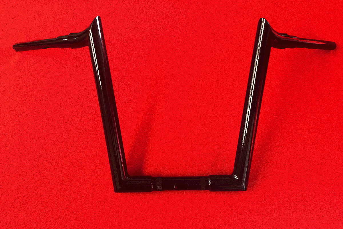 CUSTOM HARLEY 2015 ROADGLIDE APE HANGERS DJ BLACK