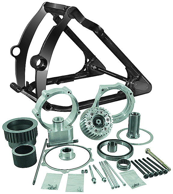330 Tire Motorcycle Swingarm Conversion Kits for 2012-13 Twin Cam Softails