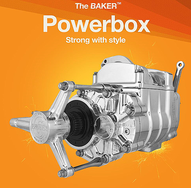 BAKER TRANSMISSION POWER BOX 6 SPEED1990 TO 1996 SOFTAIL