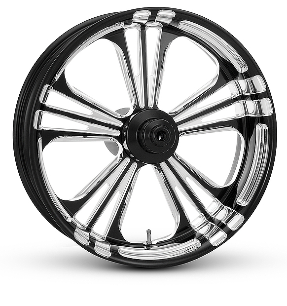 3D CONTRAST CUT HARLEY MOTORCYCLE WHEELS THE ICON