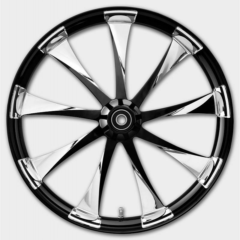 3D USA MADE CUSTOM HARLEY WHEELS THE LINCOLN PHANTOM  WHEEL