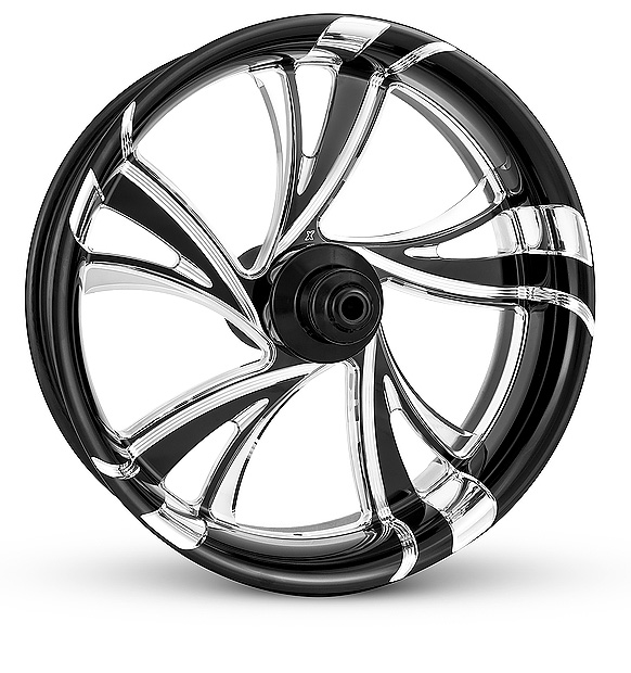 EXTREME MACHINE PLATINUM BLACK CONTRST CRUISE WHEEL