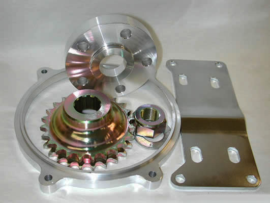 "1/4"" Offset Kit, 1984-1990 B/T 5/6-Speed"