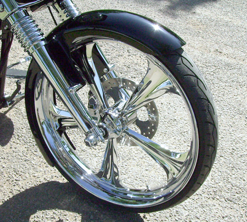 23 INCH WRAP AROUND BAGGER FENDERS