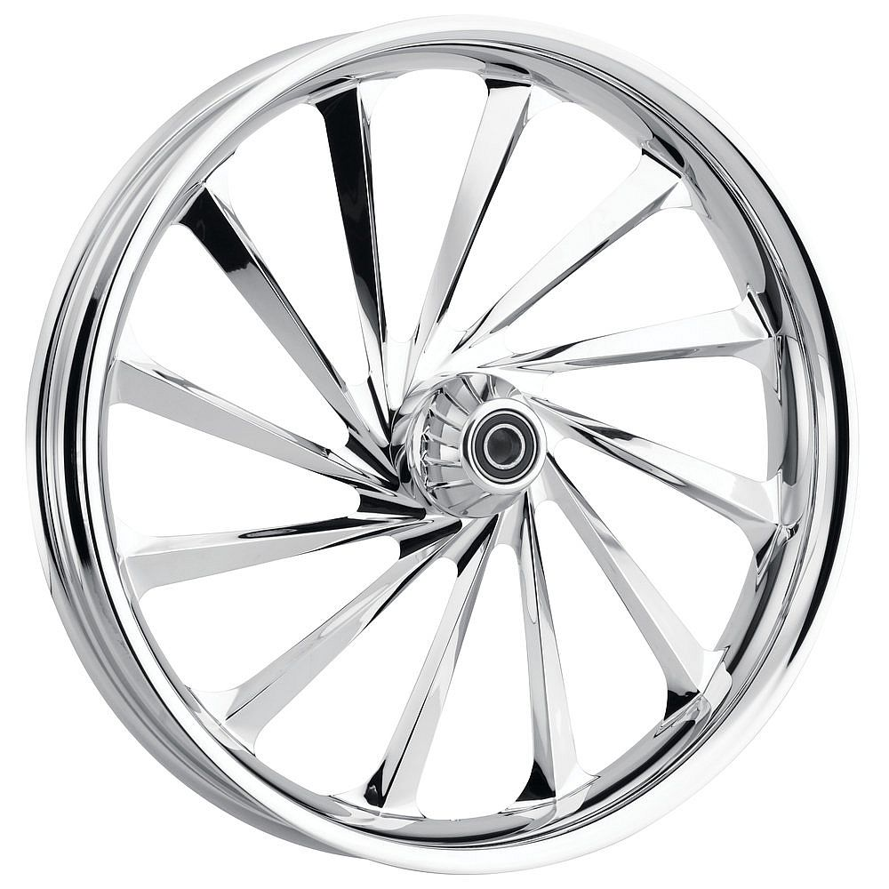 HARLEY DAVIDSON MOTORCYCLE  CHROME THRILLER WHEEL BY JADE