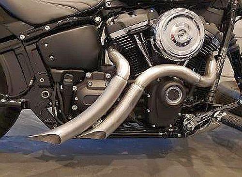 CUSTOM HARLEY EXHAUSTS TSUNAMI - Custom Harley Motorcycle Parts at