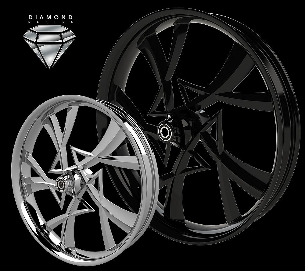 CUSTOM HARLEY WHEELS , NARCOS WHEELS