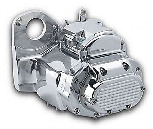 MOTORCYCLE TRANSMISSIONS Ultima Polished 6-spd Left Side Drive Transmission for 91-99 Softail and Cu