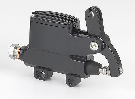 "KUSTOM TECH DELUXE WIRE OPERATOR MASTER CYLINDER 14mm (9/16"") BORE BLACK"