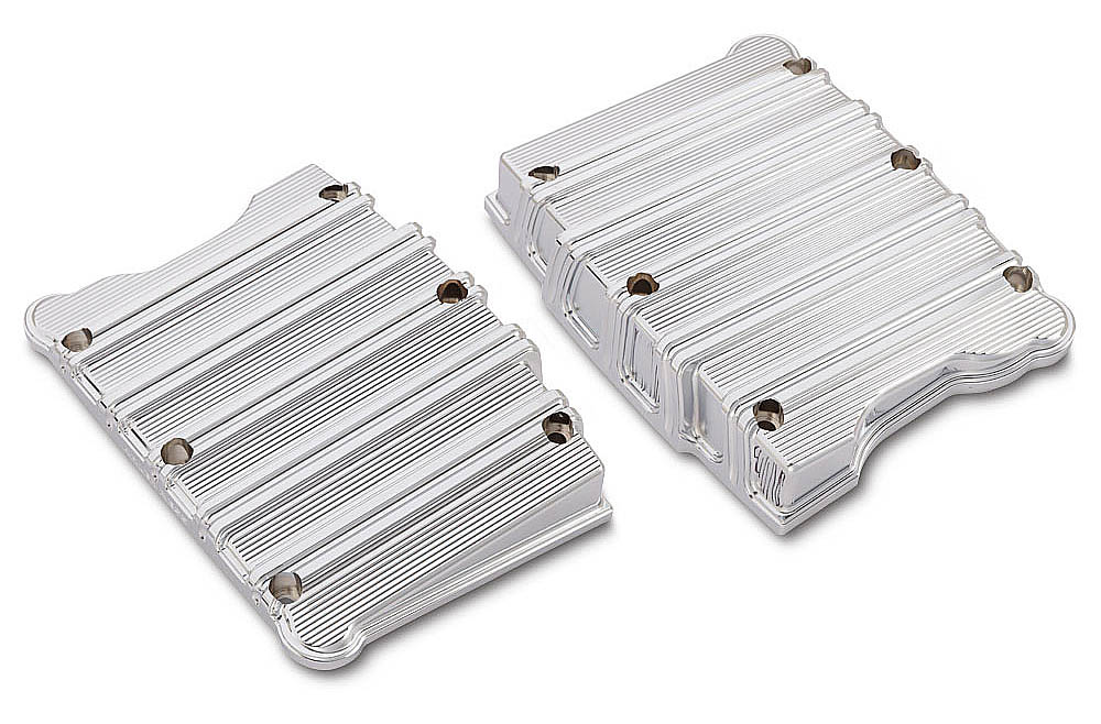 10 - Gauge Rocker Box Top Cover - CHROME