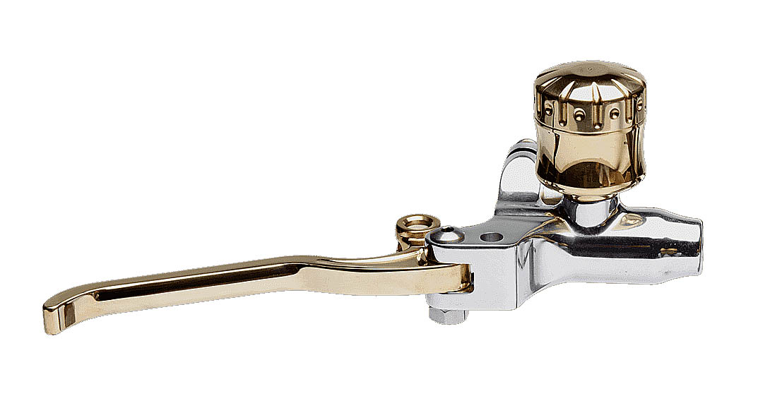 Brake Master Cylinder Polished – Tank Brass – Lever Brass