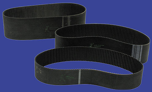 "BIG TWIN BELT DRIVE BELTS 20204   3. 00"" X 140 TEETH 8. 00 MM"