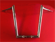 HARLEY 2015 ROADGLIDE APE HANGERS DJ CHROME