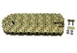 530 Gold Heavy Duty X-Ring Motorcycle Chain 120 Links