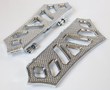 HARLEY BAGGER BOARDS FULL CHROME 99 TO CURRENT USA MADE