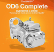 BAKER OD6 TRANSMISSION HARLEY SOFTAIL 2000 & UP