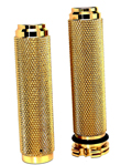 BRASS HARLEY MOTORCYCLE GRIPS DUAL CABLE MADE IN THE USA