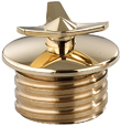 Brass Spinner Custom Gas Cap for Stock Tanks LEFT SIDE
