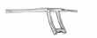 CARLINI MENACE DRAG BARS CHROME 1.25 / 7 INCHES, TALL