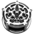 Air Cleaner for Harley Davidson: CHROME TRIBAL