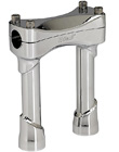 CHROME 6 INCH TALL MOTORCYCLE RISERS