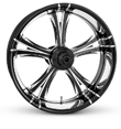 "Shop Custom Harley Wheels for Custom Harley Davidsons "" FIERCE"""