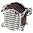 HARLEY AIR CLEANERS , Fits 2000-up Softail and Dyna, and 1991-up Sportster CHROME