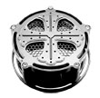Air Cleaner for Harley Davidson: CRUSADES CHROME