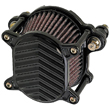 HARLEY AIR CLEANERS , 2000 UP SOFTAIL, 1991 UP SPORTSTERS Omega Air Cleaner BLACK
