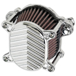 HARLEY AIR CLEANERS , 2000 UP SOFTAIL, 1991 UP SPORTSTERS Omega Air Cleaner CHROME