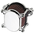 HARLEY AIR CLEANERS ,SMOOTH  •Fits 2000-up Softail and Dyna, and 1991-up Sportster CHROME