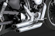 HARLEY EXHAUSTS SPORTSTERS SHORT SHOTS CHROME 2004 TO 2013 MOTORCYCLES