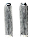 HARLEY GRIPS INTERNAL THROTTLE CHROME DIAMOND KNURLED