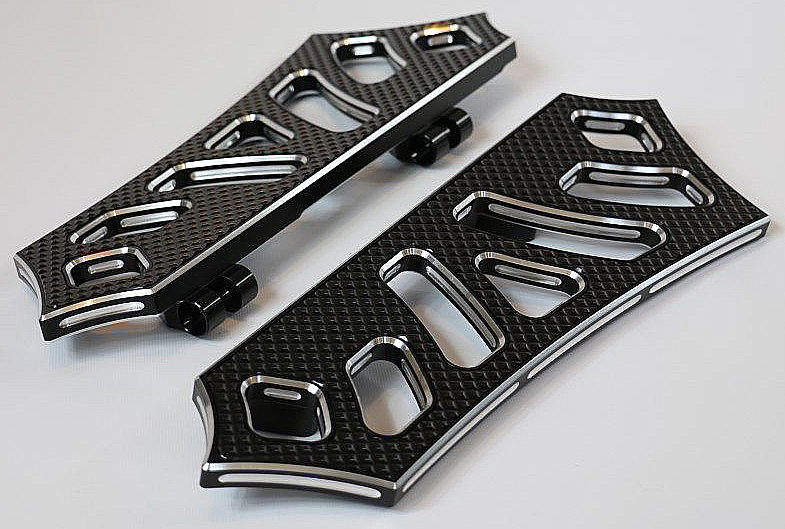 HARLEY BAGGER BOARDS CONTRAST CUT /BLACK INSERTS 99 TO CURRENT USA MADE