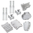 HARLEY DRESS UP COVERS KITS ENGINE & TRANSMISSION, PUSH ROD  COVERS CHROME