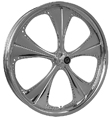 "METALSPORT POLISHED WHEEL 26 ""M-3"""