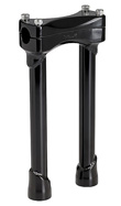 BLACK 10 INCH TALL MOTORCYCLE RISERS