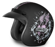 MOTORCYCLE HELMETS D.O.T. DAYTONA CRUISER- W/ GONE BAD