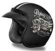 MOTORCYCLE HELMETS D.O.T. DAYTONA CRUISER- W/ FLYING ACE'S