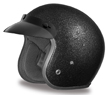 MOTORCYCLE HELMETS D.O.T. DAYTONA CRUISER- BLACK METAL FLAKE