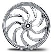 RC COMP NEW WHEELS CHROME HYDRO WHEELS