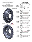 Offset Transmission Sprockets- 24 Tooth 5 Speed