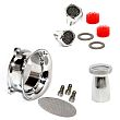 HARLEY AIR CLEANERS,Power Kit for S&S Super E G Carb Polished Aluminum