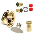 HARLEY AIR CLEANERS, S&S Super E G Carb Power Kit in Solid Brass
