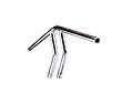 "TC BROS HANDLEBARS, TC Bros. 1"" Whiskey Handlebars - Chrome"