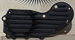 SPORTSTER RIBBED BOLT OVER CAM COVER 91 TO 15 ALL BLACK