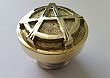 Brass Harley Gas Cap ANARCHY DESIGN SOLID BRASS