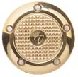 Harley Point Cover Harley Point Cover BRASS